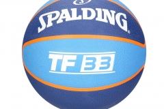 Balón DE BALONCESTO SPALDING TF33 - Basquet AZul NBA #7