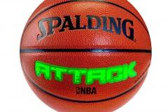Balón Spalding Attack Composite Naranja - Attack basquet #7