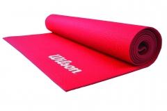 Tapete de Yoga Rojo de 4mm